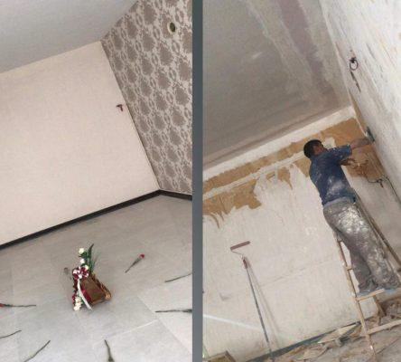 قبل و بعد بازسازی