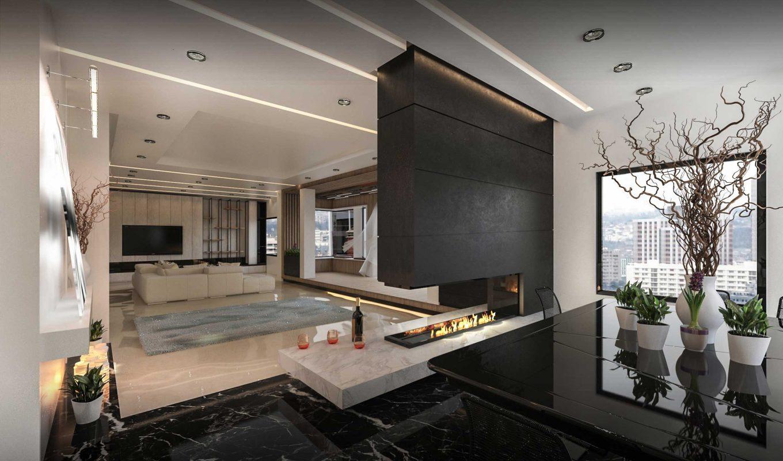 طراحی داخلی تجویدی | بازسازی ساختمان اداری منزل و شرکت در کرج