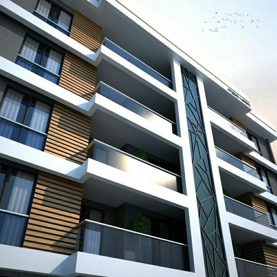 طراحی نمای ساختمان در کرج خاص