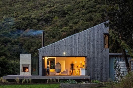 طراحی و ساخت ویلا چوبی مدرن