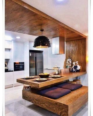دکوراسیون داخلی آشپزخانه | بازسازی ساختمان اداری ، آپارتمان و شرکت در تهران | استودیو معماری تجویدی