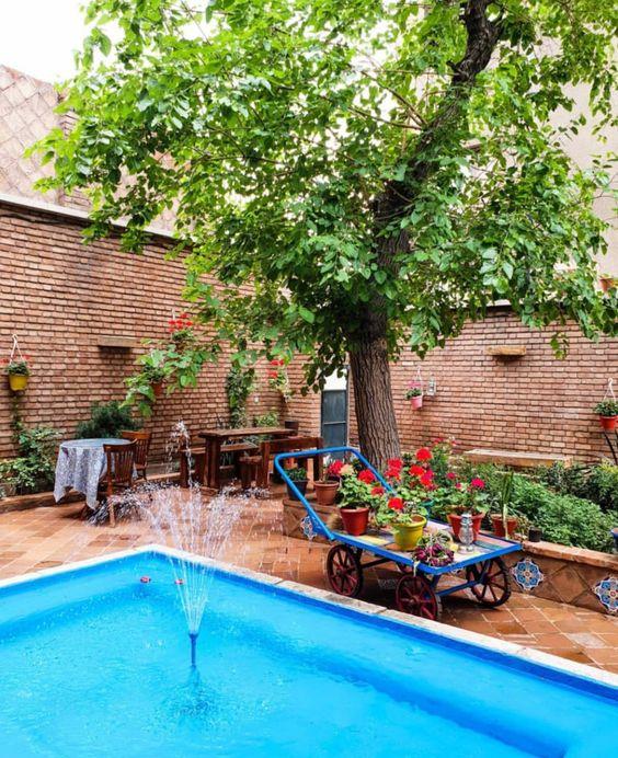 طراحی ویلا در تهران و چهار باغ | طراحی باغ ویلا سنتی | استودیو معماری تجویدی