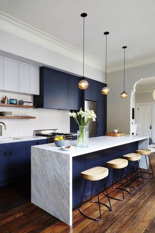 جدیدترین مدل کابینت آشپزخانه | طراحی ویلا در چهارباغ و سرخاب | بازسازی شرکت در کرج استودیو معماری تجویدی