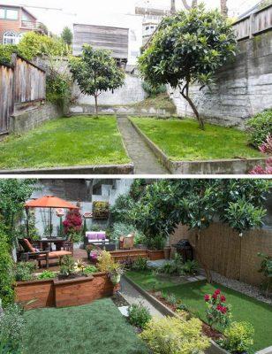 بازسازی باغچه | بازسازی ساختمان و شرکت در کرج | بازسازی آپارتمان در کرج | استودیو تجویدی