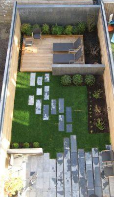 طراحی باغ ویلا کوچک | بازسازی آپارتمان در تهران و کرج ، طراحی و اجرای ویلا در کردان ، استودیو طرح و ساخت تجویدی