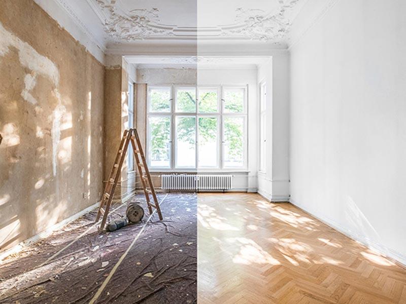 هزینه بازسازی خانه | بازسازی ساختمان اداری منزل و شرکت در کرج | استودیو معماری تجویدی