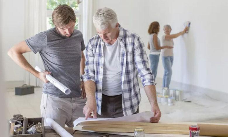 هزینه بازسازی خانه   بازسازی ساختمان اداری منزل و شرکت در کرج   استودیو معماری تجویدی